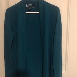 Blue/green cardigan